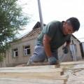 Работа по восстановлению жилых домов в Арысе ведется интенсивно