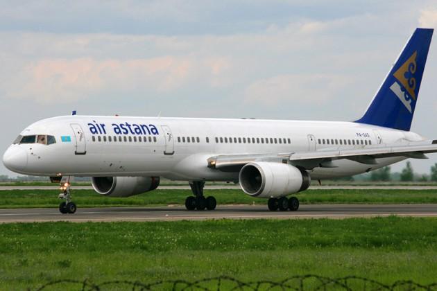 Рейс Air Astana задержался из-за поломки колеса