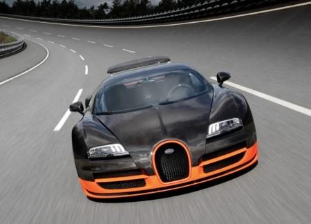 Bugatti Veyron SS уже не самый быстрый