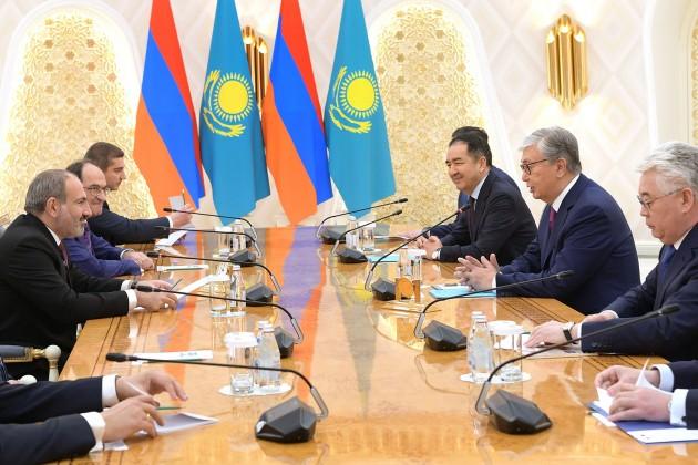 Президент РК: Нужно придать связям дополнительный импульс