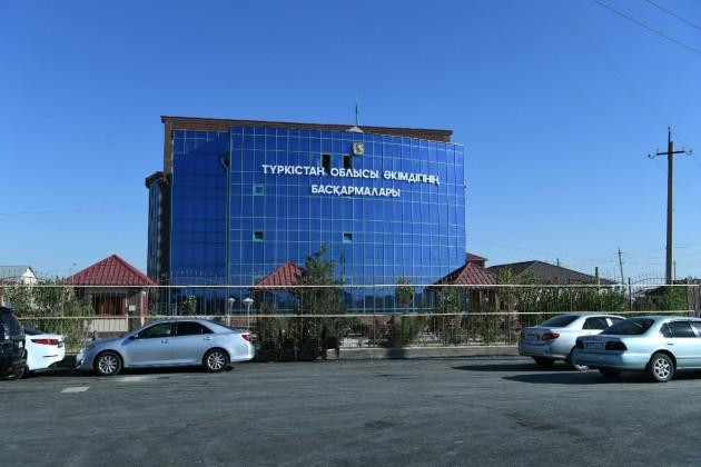 Областные управления уже начали переезд вТуркестан