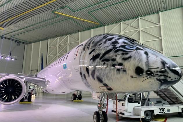 Air Astana презентовала новый лайнер изБразилии