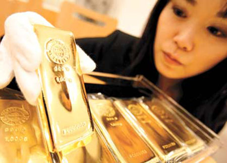 Китай активно скупает золото