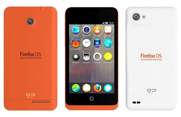 Mozilla выпустила два дешевых смартфона
