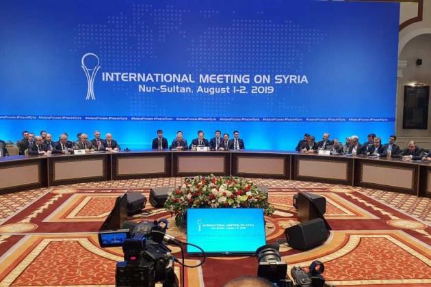Следующий раунд переговоров по Сирии в Нур-Султане состоится осенью