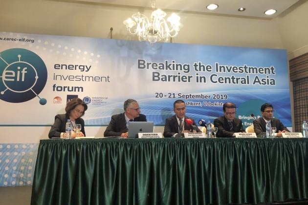 Энергетический сектор: центр приоритетов программы ЦАРЭС
