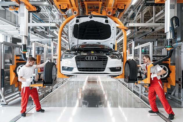 Марка Audi изменит свой логотип
