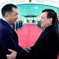 Президент Узбекистана прибыл свизитом вКазахстан