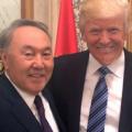 Нурсултан Назарбаев прибыл вСША