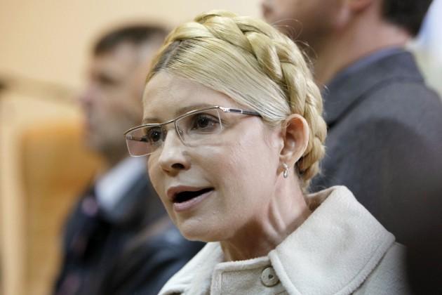 Тимошенко обещает вернуть полуостров Украине
