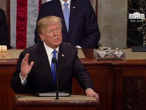 Трамп поведал освоем новом девиз для будущей президентской кампании