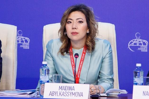 Министром труда исоцзащиты населения стала Мадина Абылкасымова