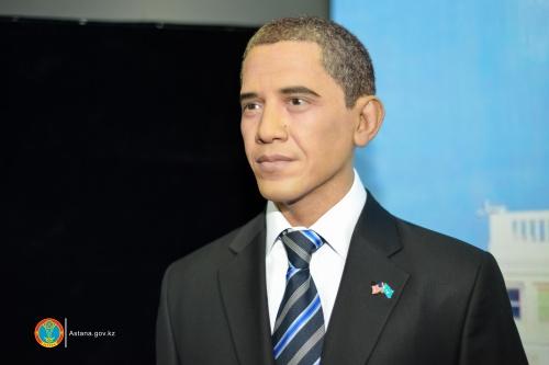 Восковые президенты представлены в Астане