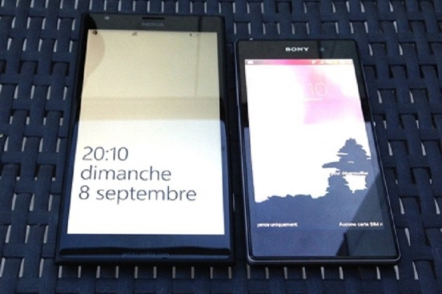 В Сеть попали снимки гигантского смартфона Nokia Bandit.