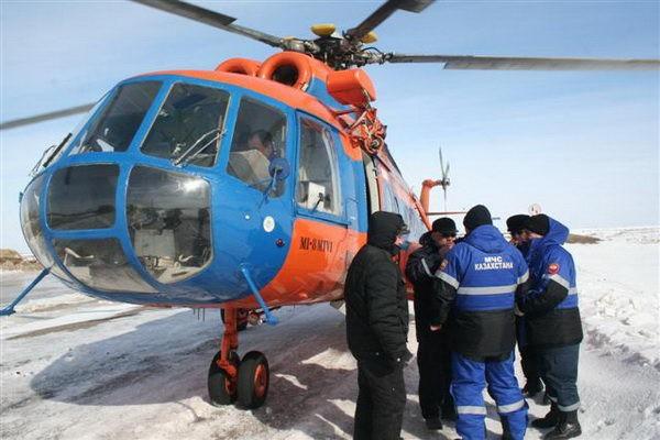 В Казахстане сняли сериал о работе спасателей