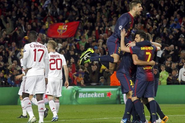 Убедительный реванш «Барселоны» и волевая победа «Галатасарая»