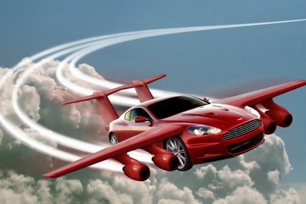 Летающие автомобили в скором времени станут обыденностью