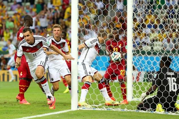Сборные Германии и Ганы сыграли вничью
