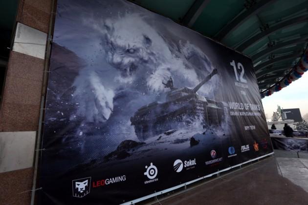 Военнослужащие поддержали финалистов игры World of Tanks