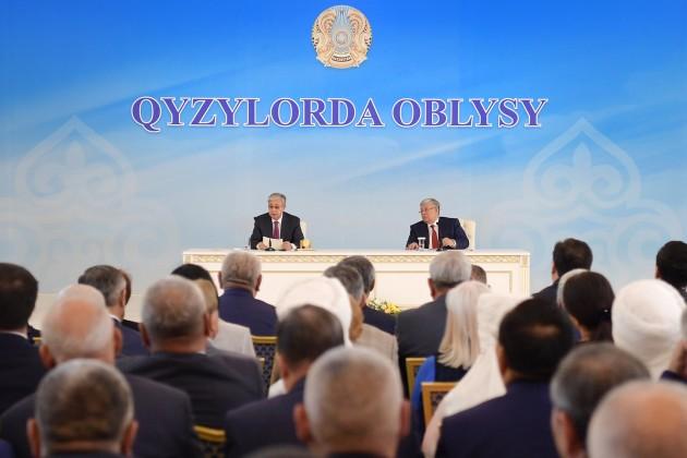 Какие вопросы надо решить в Кызылординской области