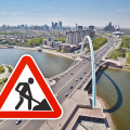 Из-за ремонта дорог в Астане ограничено движение