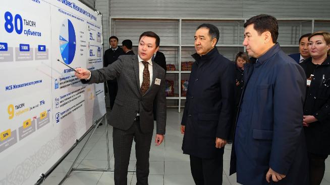 Сагинтаев посетил ряд социально значимых объектов Карагандинской области