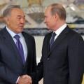 Нурсултан Назарбаев: Путин сейчас поставил Россию насвое место