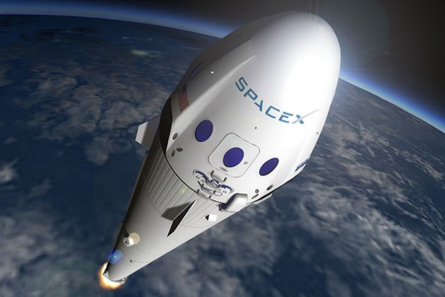 SpaceX попытается посадить Falcon 9 на платформу в океане