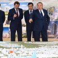 Нурсултану Назарбаеву рассказали о застройке и развитии Астаны