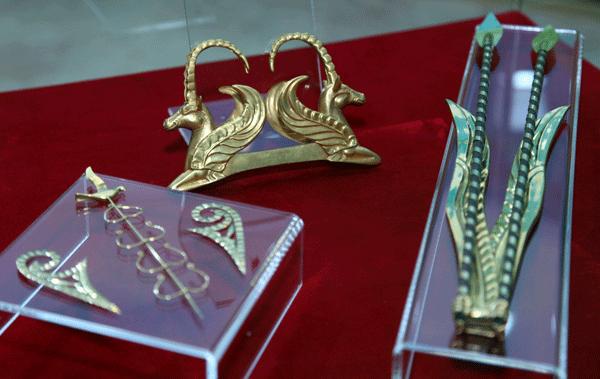 В столице открылась выставка Золотое наследие скифов