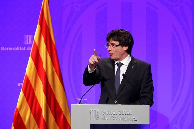 Лидер Каталонии отверг условия Мадрида