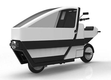 Электроскутер VOI – грузовой и пассажирский