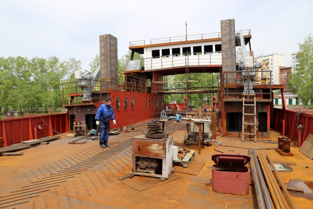 Два паромных судна для Казахстана построят вХорватии