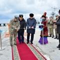 Министр обороны открыл первый военный пирс вАктау