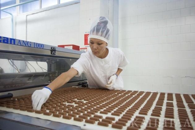 В Таразе реконструировали кондитерскую фабрику