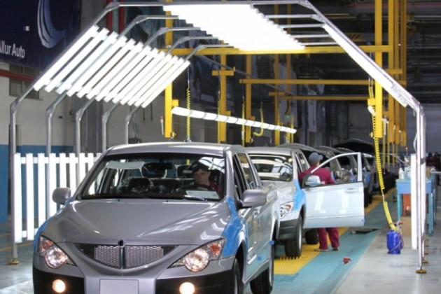 «Дочки» AllurGroup приостановили производство автомобилей