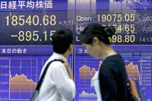Китайский фондовый индекс упал доминимума за10месяцев