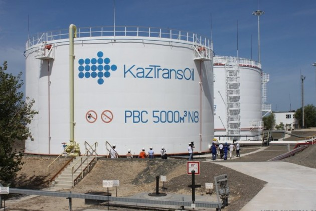 Объем транспортировки нефти КТО за год снизился