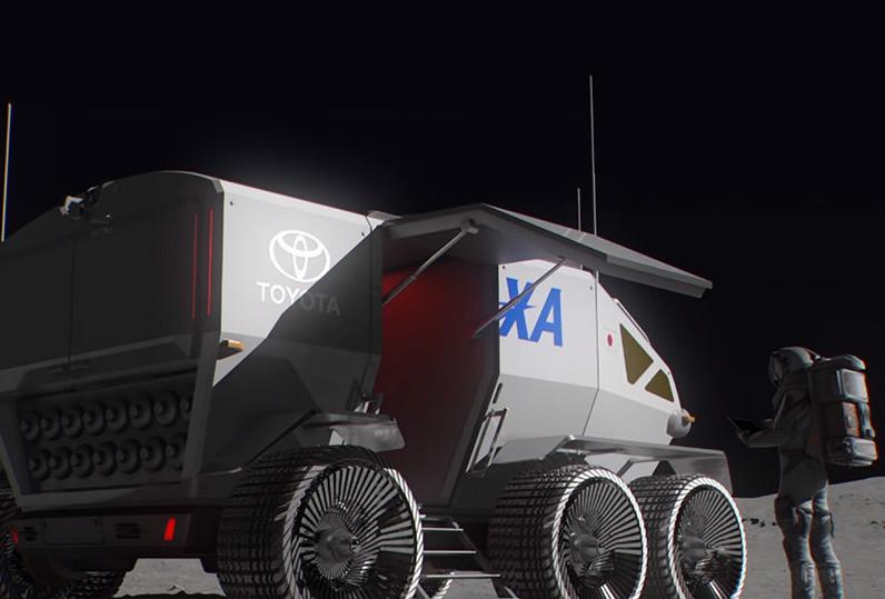 Toyota займется созданием лунного автомобиля