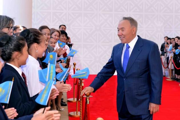 Президент открыл крупнейшую в Центральной Азии Академию хореографии