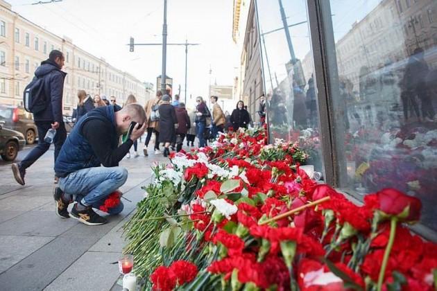 Количество погибших врезультате взрыва вПетербурге увеличилось до15