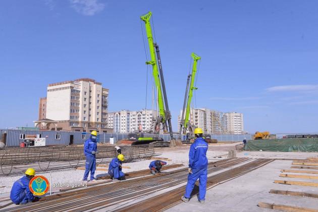 ЛРТ в Нур-Султане планируют достроить в 2020 году