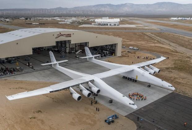 ВСША представили самый большой вмире самолет