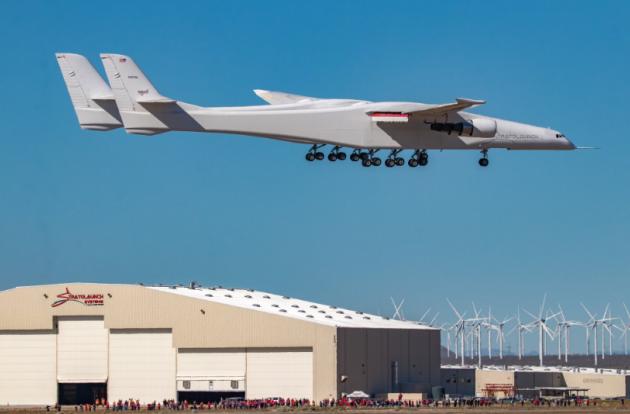 Самый большой самолет поднялся в воздух