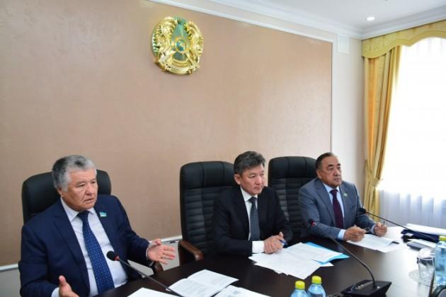 ВАкмолинской области дали подробный отчет поПяти социальным инициативам