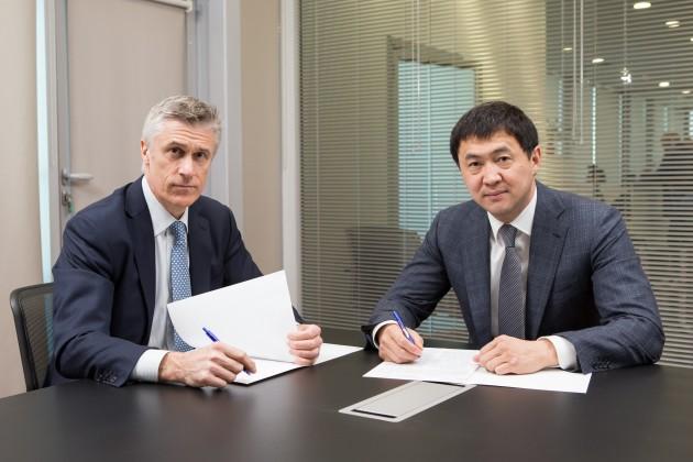 Кайрат Сатыбалдыулы и Майкл Калви подписали меморандум о сотрудничестве