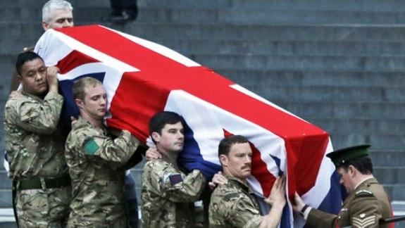 В Лондоне провели репетицию похорон Тэтчер