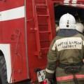 В Алматинской области горел рынок