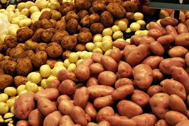 Участились случаи поставки зараженного картофеля изКыргызстана