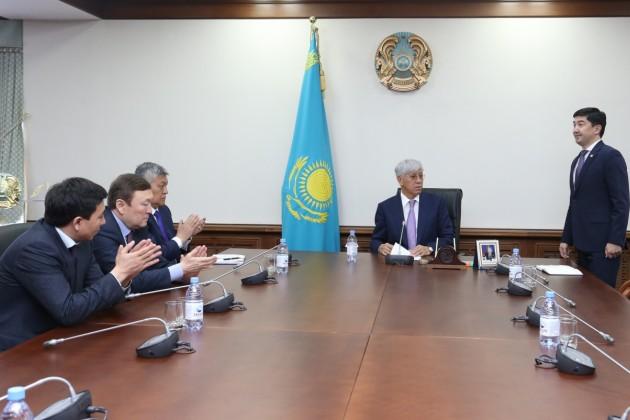 Аппарат акима Алматинской области возглавил Батыржан Байжуманов